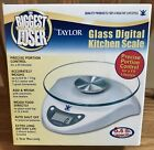 Digital Kitchen Scale Taylor Precision Products 3831BL Biggest Loser BRAND NEW