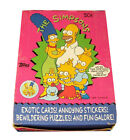 1990 Topps The Simpsons Wax Box 36 Packs