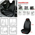 Durable PU Leather Car Front 1 Seat Cover Cushion High Back Bucket Protector Pad