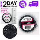 Braid Black Rubber Bands Ponytail Holder Daughter Thick Hair Ties Long Time