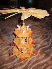 CHRISTMAS AROUND THE WORLD WINDMILL CAROUSEL NATIVITY VINTAGE