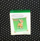 Hallmark Christmas Ornament Miniature Rudolph the Red Nosed Reindeer C9