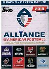2019 Topps Alliance of American Football Factory Sealed Hobby Box