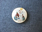 Hand painted figural Satsuma Porcelain Japanese Button 18