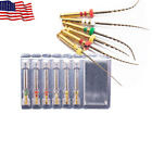 Dental Rotary Endodontic Niti Files Root Canal X3-pro Gold Files 6pc Easyinsmile