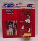 CLYDE DREXLER HOUSTON ROCKETS NBA STARTING LINEUP ACTION FIGURE Toy 1996 NEW