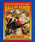 Bob Griese Cards, Rookie Card and Autographed Memorabilia Guide 7