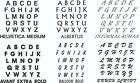 Letter Sets Vinyl Color Decal Sticker Oracal 651 ID Letters