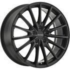 17x8 Black Petrol P3A Wheels 5x425 +40 Fits Jaguar S Type XJ8 X Type