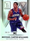 Michael Carter-Williams Rookie Card Checklist and Guide 28