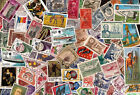 Lot A 100 Different Worldwide Stamp Collection At least 50 Commemoratives