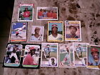 1987 DONRUSS 2 CARD PANEL WILLIE MCGEE CARDINALS + 1986 BOX BOTTOM + 6 RC 1983++
