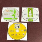 Nintendo Wii Game Lot Of 3 The Biggest Loser  Wii Fit  Wii Fit Plus Games Only