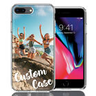 Personalized Custom Picture Image Photo Case For Apple iPhone 8 Plus 7 Plus