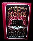 And Then There Were None  Classic Mysteries By Agatha Christie Leather 1st