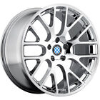 17x8 Chrome Beyern Spartan Wheels 5x120 +15 BMW 5 SERIES 525 528 530 540