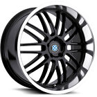 17x8 Black Beyern Mesh Wheels 5x120 +15 BMW 5 SERIES 525 528 530 540