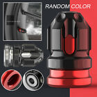 2x CNC Motorcycle Tire Valve Cap Cover Wheel Decoration Accessories Red/Silver