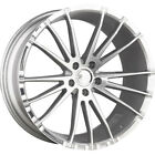 20x85 Silver Concept One CSM01 Wheels 5x45 +38 Fits Acura NSX