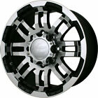 5 15 Vision Warrior Black Wheels Rims 5x45 5x1143 Jeep Wrangler TJ YJ
