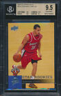 2009-10 Upper Deck #234 Stephen Curry Rookie Card Graded BGS 9.5-9.5-9.5-9