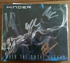 Hinder - When The Smoke Clears Cd Signed And Sealed Autographed