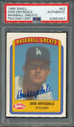 Don Drysdale Cards and Autographed Memorabilia Guide 25