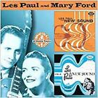 LES PAUL & MARY FORD THE NEW SOUND VOL 1 & 2  CD TWO ALBUMS