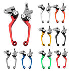 For Honda XR250 XR400/MOTARD CRM250R/AR 1994-1998 CNC Pivot Brake Clutch Levers