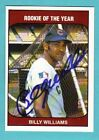 1985 TCMA Billy Williams Autograph with COA Cubs