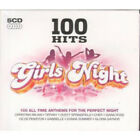 100 HITS Girls Night CD UK Demon 2008 100 Track 5 CD Compilation Featuring