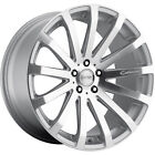 18x85 Silver MRR HR9 Wheels 5x425 +35 Fits Jaguar F Type XJ8 S Type