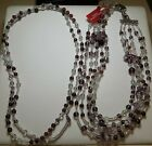 Antica Murrina Venezia handcrafted Murano Glass necklace set