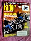 Rider Magazine June 1996 Vulcan vs Star, MuZ Saxon Tour 500, Touring's Top Ten