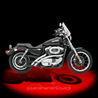 Bassani Xhaust Radial Sweepers Exhaust Chrome for 1986 2003 Harley Sportster
