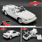 PRE ORDER GMP 18824 118 1993 FORD MUSTANG LX CONVERTIBLE VIBRANT WHITE
