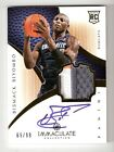 2012-13 Panini Immaculate Basketball Rookie Autograph Patch Gallery, Guide 74