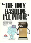 1990 magazine Ad, AMOCO 'Ultimate', The only Gasoline I'll Pitch!   050814