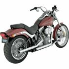 Vance  Hines Straightshots Slip On Exhaust For Harley Softail 07 13