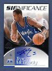 TRACY McGRADY 2003-04 SP GAME USED SIGNIFICANCE AUTOGRAPH ON CARD AUTO # 100