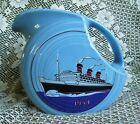FIESTAWARE JUICE PITCHER 1934 QUEEN MARY HLC CLUB EXCLUSIVE FIESTA DINNER WARE