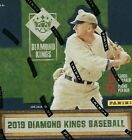 2019 DIAMOND KINGS BASEBALL FACTORY SEALED HOBBY BOX + 20 BASE CARDS