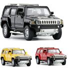 Hummer H3 132 Scale Diecast Metal Model Car Toy Red Black Yellow White Police