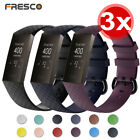 Set of 3 Soft Silicone Replacement Spare Watch Band Strap for Fitbit Charge 3