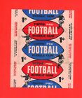 1957 Topps 1 cent football wrapper