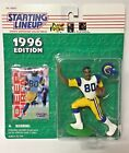 1996 ISSAC BRUCE LOS ANGELES LA RAMS Starting Lineup St. Louis Kenner NFL