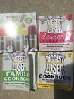 Biggest Loser Lot 4 Books Dessert Family and nutribullet Cookbook Huge Lot