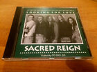 SACRED REIGN Looking For Love CD 1993 VERY RARE Fraternity Records CD-0001-SR