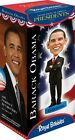 Barack Obama Collectible Bobblehead With RED TIE Retired