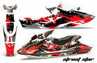 Jet Ski Graphics Kit Decal Wrap For Sea Doo Bombardier GSX 1996-1999 STREET RED